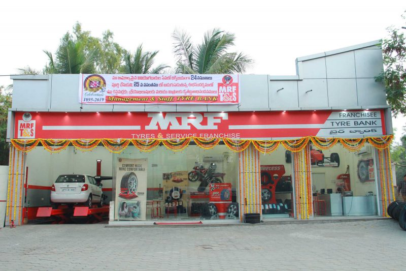 How to Open MRF Tires Franchise